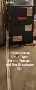 Condensation Drain Pipe