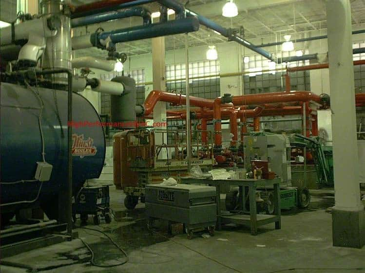 Boiler Piping Plant Renovation Hvac Heating Hydronics