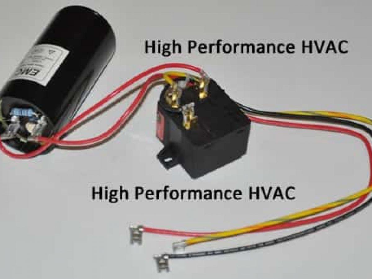 Start Capacitors for HVAC Compressors | Motor Start AssistHigh Performance HVAC