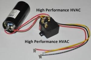 Start Capacitors For Hvac Compressors Motor Start Assist