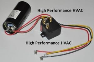 Start Capacitors for HVAC Compressors - Start Capacitor with Potential Relay