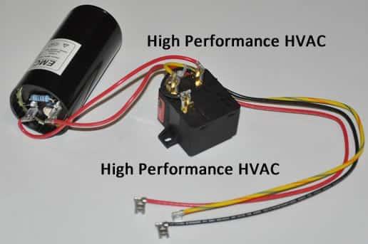 Single Phase Compressor Start Relay Wiring Diagram from highperformancehvac.com