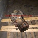 Air Conditioner Compressor Failure - Old Burned Up Semi-Hermetic Compressor from a Chiller