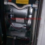 Air Handler Blower Compartment and Evaporator Condensation Drain