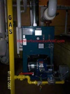 HVAC Residential Hot Water Boiler Control