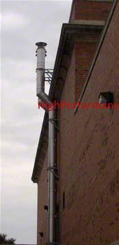 Boiler Stainless Steel Exhaust Flue Stack Hvac Heating