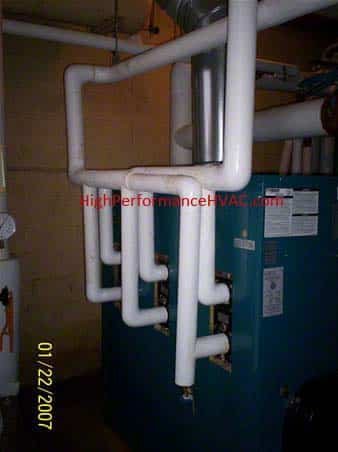 Boiler Water Loops Hvac Hydronic Piping Systems