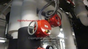 Actuators for Chilled Water Valve Control Commercial HVAC Systems