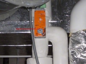 chilled water actuator used on control systems
