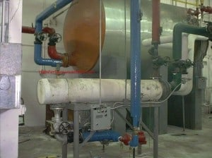 Heat Exchanger & Domestic Hot Water Storage Tank