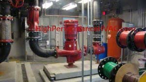 Large Condenser Pump for a Chilled Water System