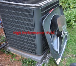 Condenser Fan Motor Repair for a Goodman Heat Pump