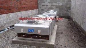 DX CRAC Unit Condensers