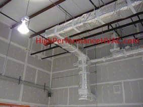 Duct Work and High Ceilings