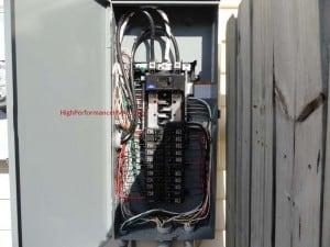 heat pump breaker trips