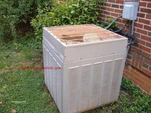 Basic Maintenance for Heat Pumps - Basic Heat Pump Maintenance Trane Condenser