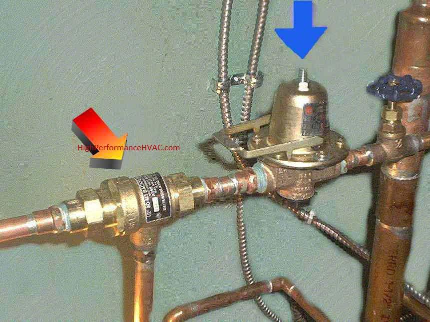 pressure reducer valves for hydronics heating cooling water. Black Bedroom Furniture Sets. Home Design Ideas