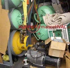 refrigerant pressure