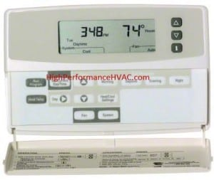 How a Programmable Thermostats Works