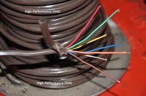 Damaged Digital Thermostat Wiring Problem