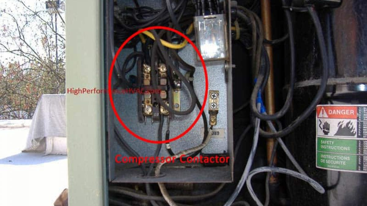 Compressor Contactors for Air Conditioners and Heat PumpsHigh Performance HVAC