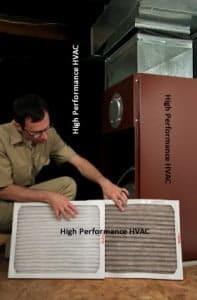 filter maintenance 197x300 common air handler problems & maintenance schedules Rheem Air Handler Wiring Diagram at soozxer.org
