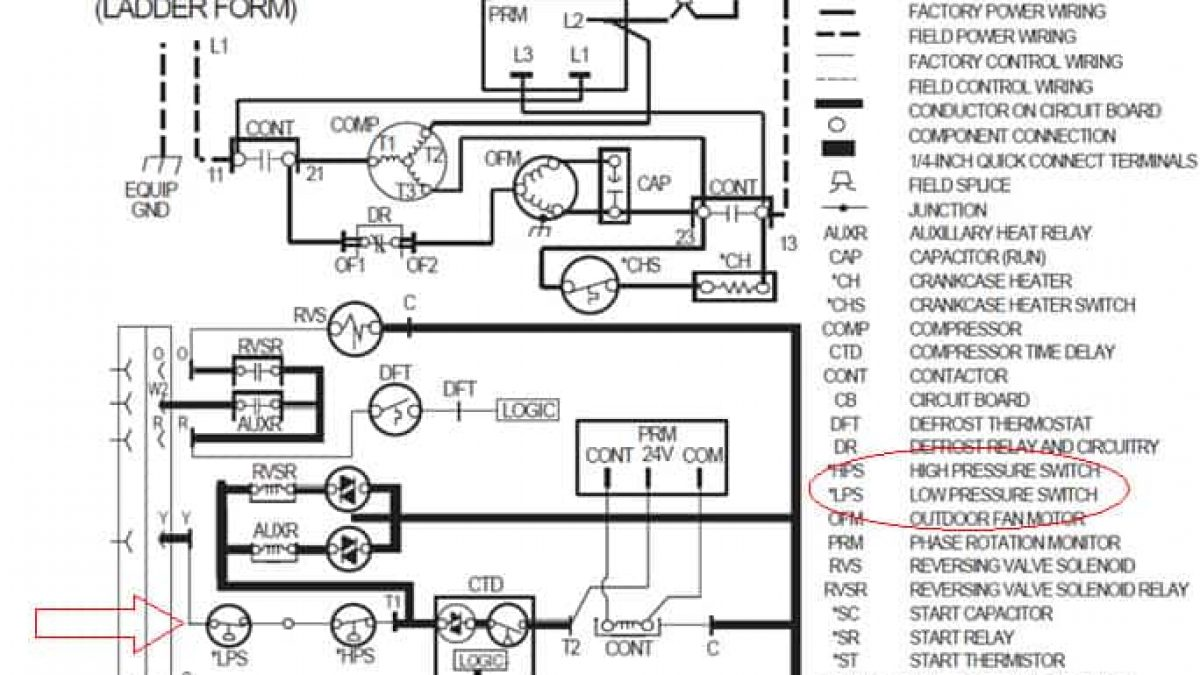 Crankcase Heater Wiring Diagram from highperformancehvac.com