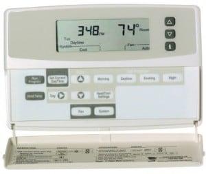 Honeywell Chronotherm Plus Thermostat - Trane XL19i Condenser