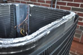 Condensing unit with copper coil & aluminum fins