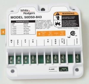 50D50_843_White Rodgers ignition control 300x284 gas furnace troubleshooting and repair flash codes White Rodgers Model 843 50E47 Schematic at n-0.co