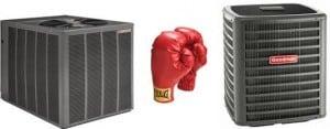 rheem versus goodman air conditioners