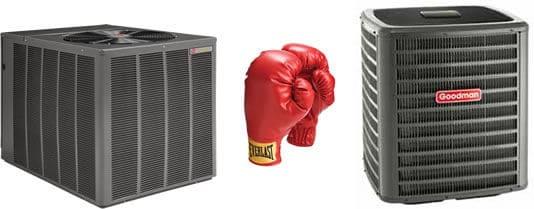 Goodman Versus Rheem Air Conditioners Heating Amp Cooling