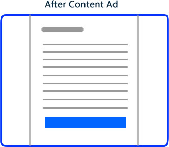 after content ad