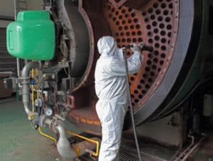 HVAC Safety Cleaning Boiler Tubes